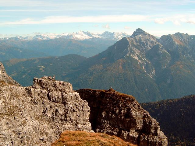 Foto: Andreas Koller / Wander Tour / Hochtennspitze: Klettersteig oder Wanderweg? (2549 m) / 09.05.2008 15:08:50