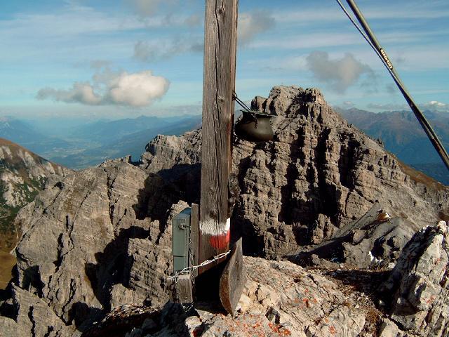 Foto: Andreas Koller / Wander Tour / Hochtennspitze: Klettersteig oder Wanderweg? (2549 m) / 09.05.2008 15:08:42