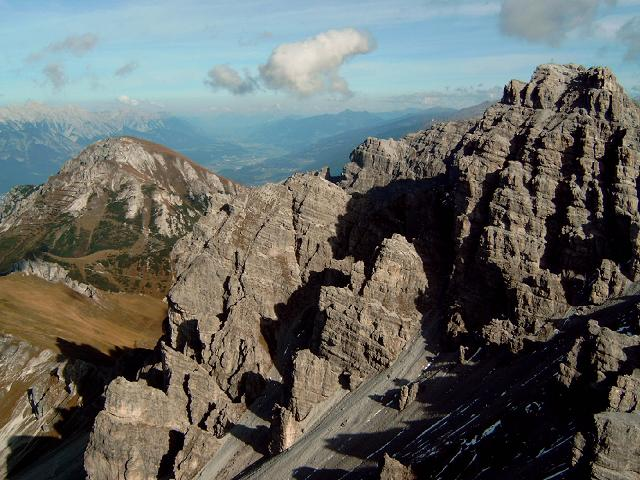 Foto: Andreas Koller / Wander Tour / Hochtennspitze: Klettersteig oder Wanderweg? (2549 m) / 09.05.2008 15:08:24