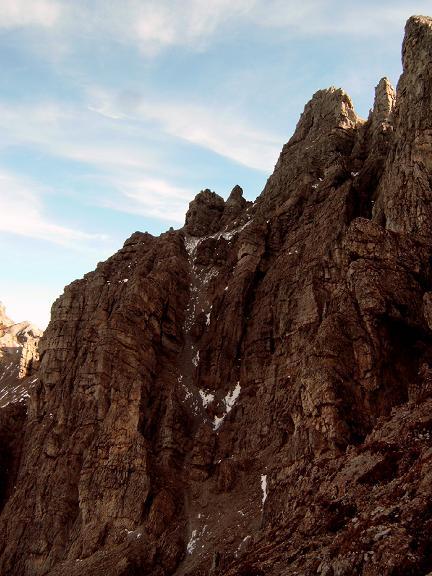 Foto: Andreas Koller / Wandertour / Hochtennspitze: Klettersteig oder Wanderweg? (2549 m) / 09.05.2008 15:07:52