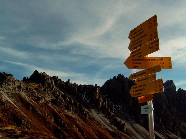 Foto: Andreas Koller / Wandertour / Hochtennspitze: Klettersteig oder Wanderweg? (2549 m) / 09.05.2008 15:07:43