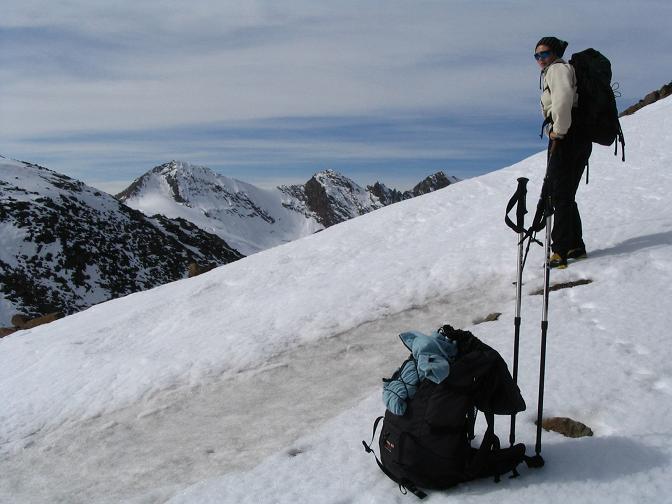 Foto: Andreas Koller / Wander Tour / Hinterer Daunkopf - ein stilles Ziel hoch über dem Stubaier Gletscherschigebiet (3225 m) / 05.06.2008 22:09:08