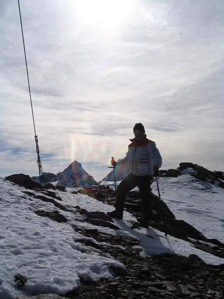 Foto: Andreas Koller / Wander Tour / Hinterer Daunkopf - ein stilles Ziel hoch über dem Stubaier Gletscherschigebiet (3225 m) / 05.06.2008 22:07:50
