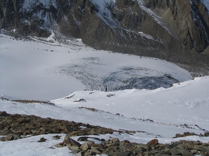 Foto: Andreas Koller / Wander Tour / Hinterer Daunkopf - ein stilles Ziel hoch über dem Stubaier Gletscherschigebiet (3225 m) / 05.06.2008 22:07:41