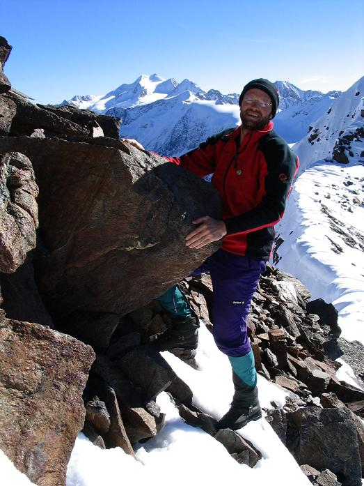 Foto: Andreas Koller / Wander Tour / Vordere Ölgrubenspitze - sehr anspruchsvolles Ziel im Kaunergrat (3456 m) / 04.06.2008 20:09:28