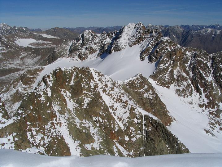 Foto: Andreas Koller / Wander Tour / Vordere Ölgrubenspitze - sehr anspruchsvolles Ziel im Kaunergrat (3456 m) / 04.06.2008 20:08:59