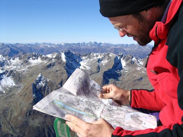 Foto: Andreas Koller / Wander Tour / Vordere Ölgrubenspitze - sehr anspruchsvolles Ziel im Kaunergrat (3456 m) / 04.06.2008 20:08:48