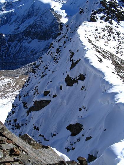 Foto: Andreas Koller / Wander Tour / Vordere Ölgrubenspitze - sehr anspruchsvolles Ziel im Kaunergrat (3456 m) / 04.06.2008 20:08:40