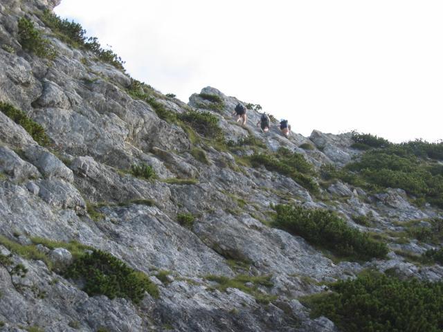 Foto: pepi4813 / Wandertour / Rinnkogel, 1823m / Ausgesetzte Passage / 19.07.2009 10:31:57