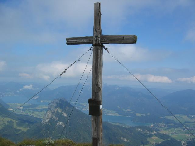 Foto: pepi4813 / Wandertour / Rinnkogel, 1823m / Gipfelkreuz Rinnkogel / 19.07.2009 10:33:30
