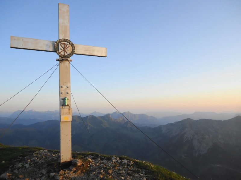 Foto: Günter Siegl / Wander Tour / Gößeck - Vorposten der Eisenerzer Alpen (2214m) / Gösser auf dem Gösseck! / 28.07.2014 16:42:15
