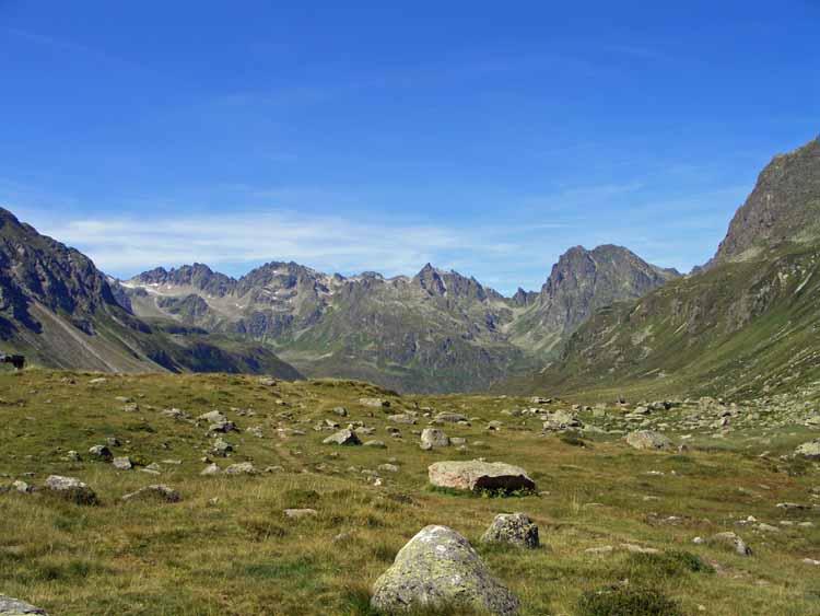 Foto: tomy37 / Wander Tour / Bielerspitze - Aussichtskanzel über dem Silvretta Stausee (2545m) / Hochmaderer / 25.08.2009 23:58:42