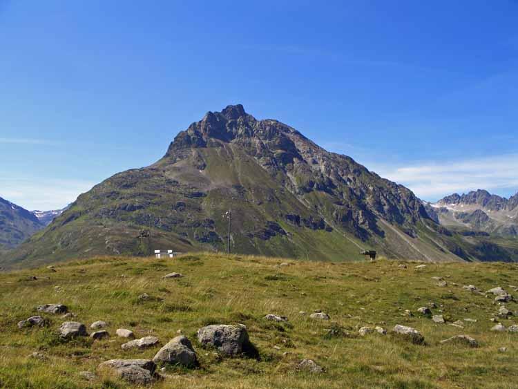 Foto: tomy37 / Wander Tour / Bielerspitze - Aussichtskanzel über dem Silvretta Stausee (2545m) / Lob-Spitze / 25.08.2009 23:58:14