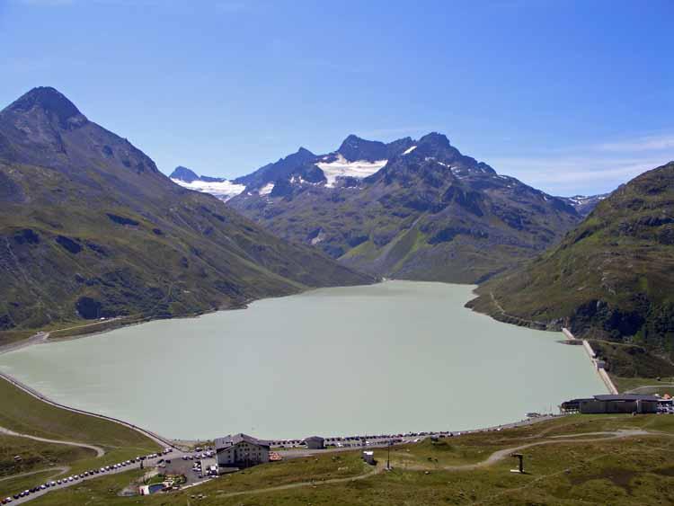 Foto: tomy37 / Wander Tour / Bielerspitze - Aussichtskanzel über dem Silvretta Stausee (2545m) / 25.08.2009 23:57:08