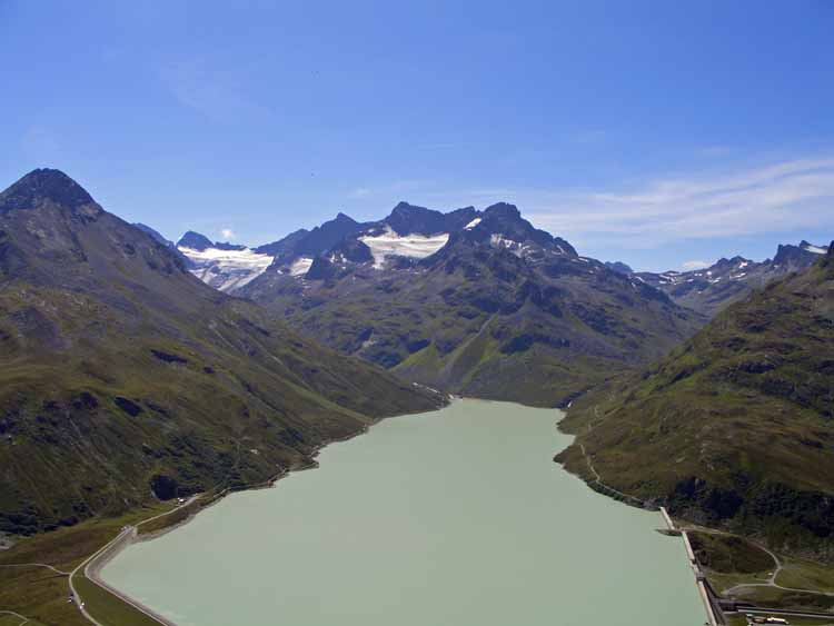 Foto: tomy37 / Wander Tour / Bielerspitze - Aussichtskanzel über dem Silvretta Stausee (2545m) / 25.08.2009 23:57:02