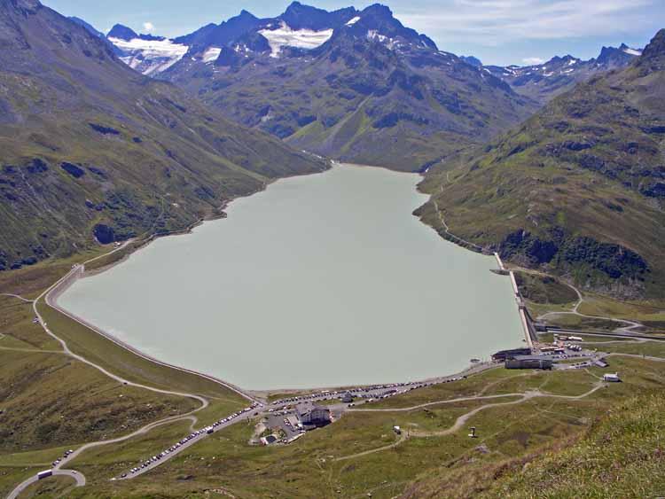 Foto: tomy37 / Wander Tour / Bielerspitze - Aussichtskanzel über dem Silvretta Stausee (2545m) / 25.08.2009 23:54:24
