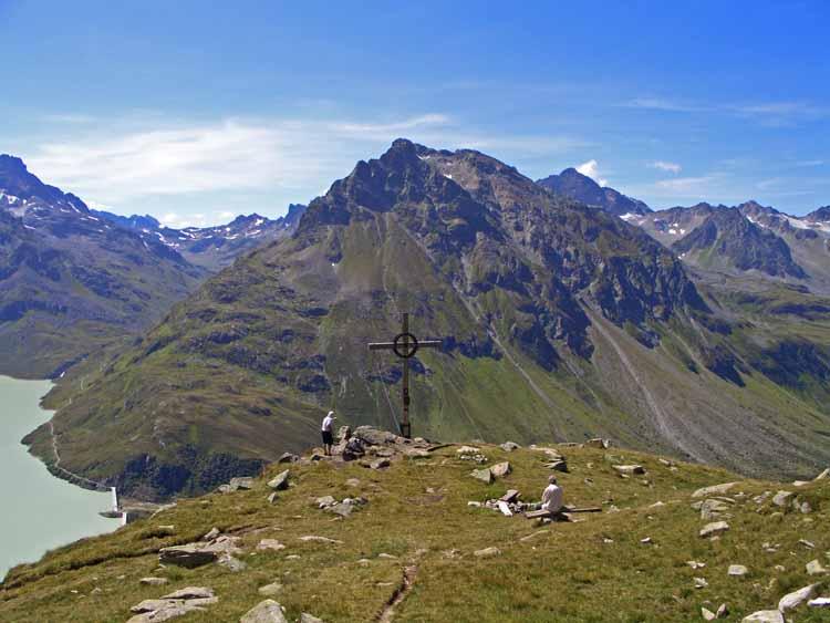 Foto: tomy37 / Wander Tour / Bielerspitze - Aussichtskanzel über dem Silvretta Stausee (2545m) / Bieler Kopf / 25.08.2009 23:53:53