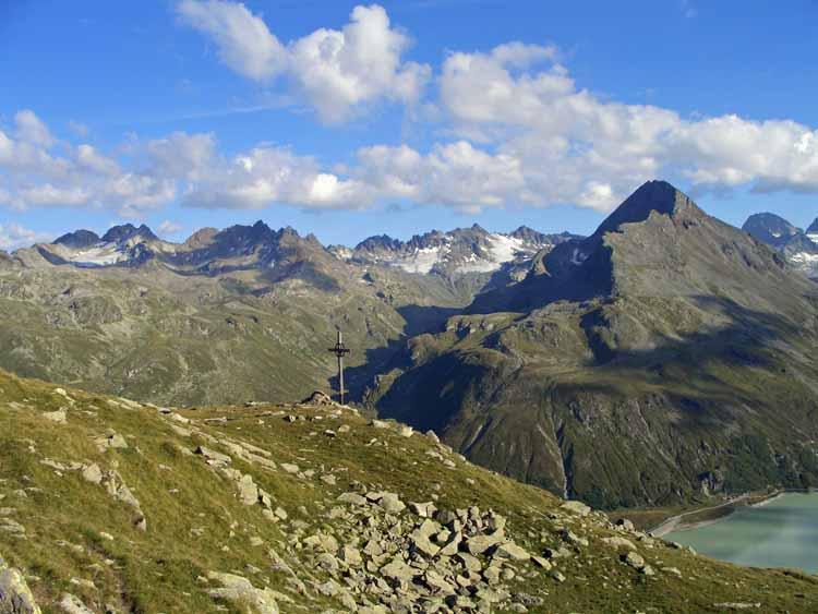 Foto: tomy37 / Wander Tour / Bielerspitze - Aussichtskanzel über dem Silvretta Stausee (2545m) / 25.08.2009 23:51:58