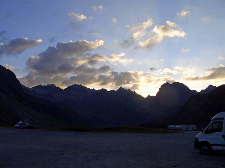 Foto: tomy37 / Wander Tour / Bielerspitze - Aussichtskanzel über dem Silvretta Stausee (2545m) / 25.08.2009 23:48:53