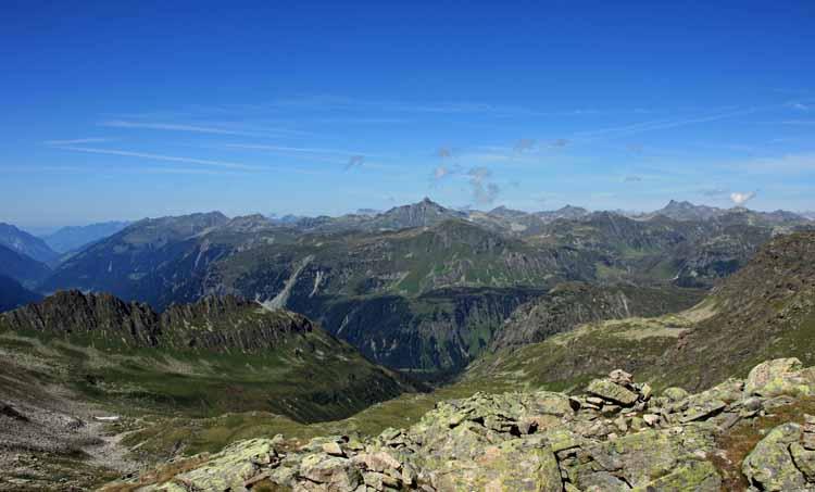 Foto: tomy37 / Wander Tour / Bielerspitze - Aussichtskanzel über dem Silvretta Stausee (2545m) / Blick nach Norden / 25.08.2009 23:43:15