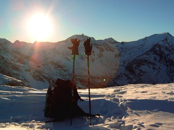 Foto: Andreas Koller / Wander Tour / Auf ungewöhnlichem Weg auf den Silberpfennig (2600m) / 10.06.2008 16:53:20