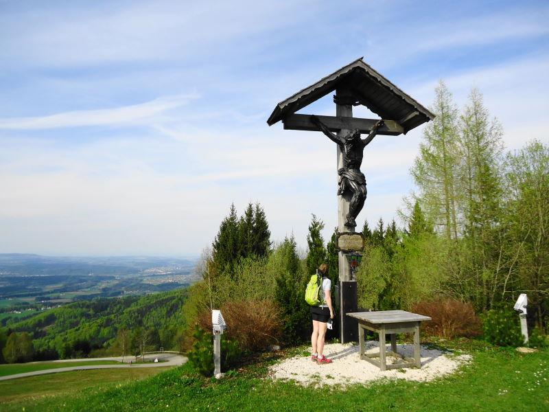 Foto: Günter Siegl / Wander Tour / Von Wessenaurach auf den Hongar / Schwarz am Hongar / 29.04.2015 08:59:23