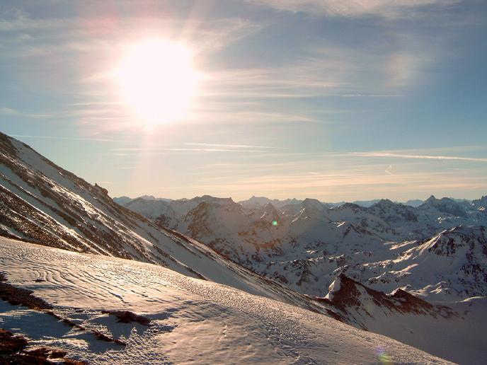 Foto: Andreas Koller / Wandertour / Im Winter auf die Lungauer Kalkspitze (2471m) / 19.06.2008 17:12:06