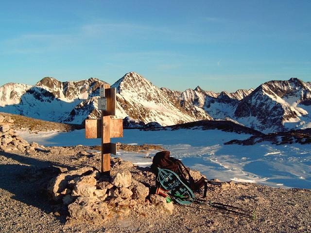 Foto: Andreas Koller / Wandertour / Im Winter auf die Lungauer Kalkspitze (2471m) / 19.06.2008 17:13:44
