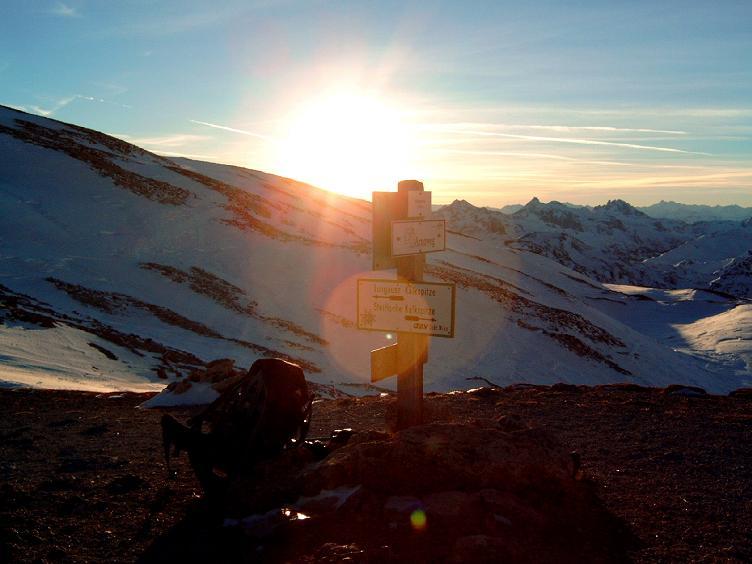 Foto: Andreas Koller / Wandertour / Im Winter auf die Lungauer Kalkspitze (2471m) / 19.06.2008 17:13:54