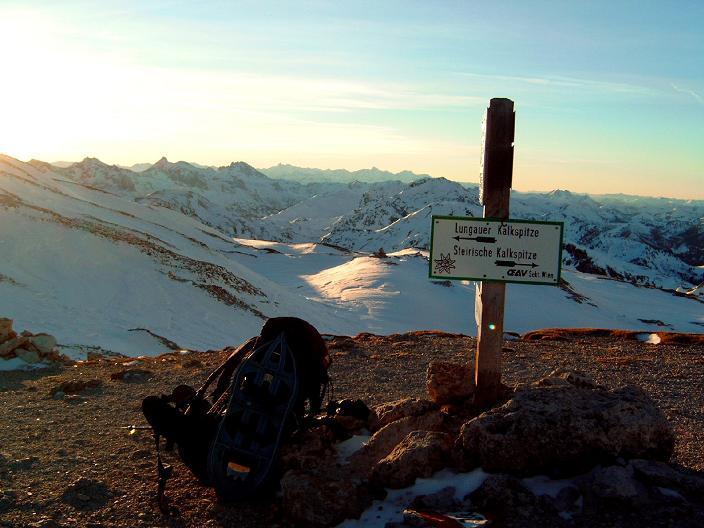 Foto: Andreas Koller / Wandertour / Im Winter auf die Lungauer Kalkspitze (2471m) / 19.06.2008 17:14:04