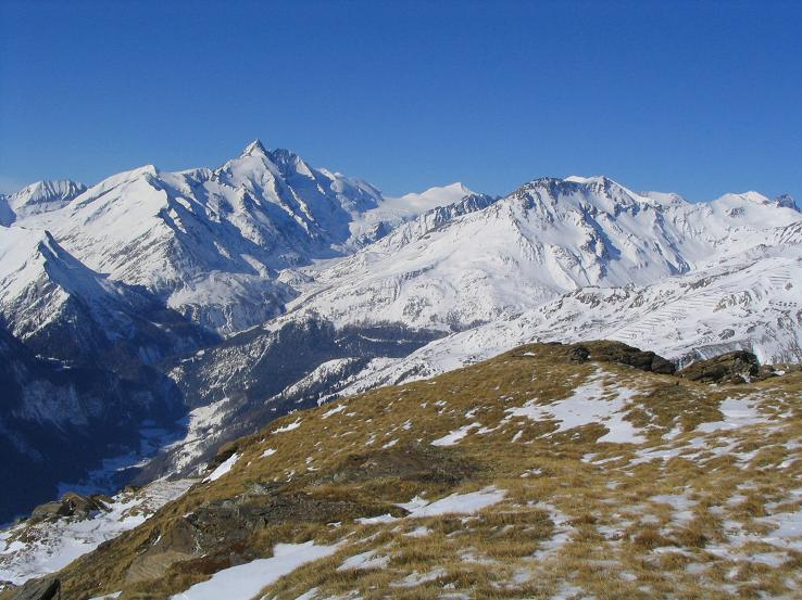Foto: Andreas Koller / Wander Tour / Sandkopf - hohe Aussichtsloge im oberen Mölltal (3090m) / 26.06.2008 19:06:53