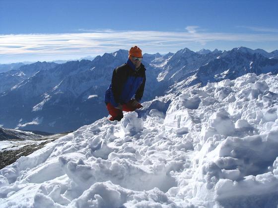 Foto: Andreas Koller / Wander Tour / Sandkopf - hohe Aussichtsloge im oberen Mölltal (3090m) / 26.06.2008 19:05:27