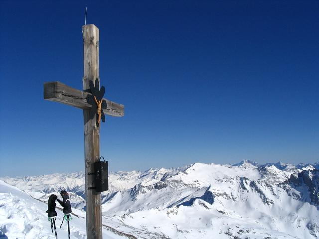 Foto: Andreas Koller / Wander Tour / Sandkopf - hohe Aussichtsloge im oberen Mölltal (3090m) / 26.06.2008 19:05:17