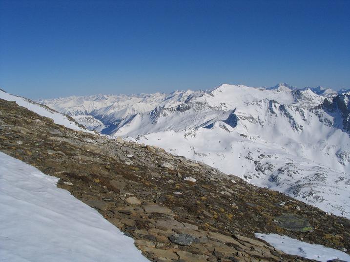 Foto: Andreas Koller / Wander Tour / Sandkopf - hohe Aussichtsloge im oberen Mölltal (3090m) / 26.06.2008 19:04:09