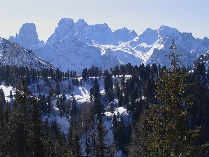 Foto: Andreas Koller / Wandertour / Dürrenstein - inmitten der Pragser Dolomiten (2839m) / 24.12.2008 13:54:43