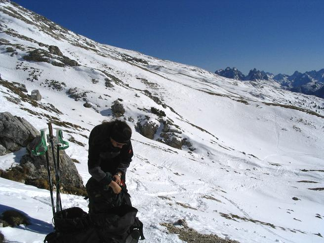 Foto: Andreas Koller / Wander Tour / Dürrenstein - inmitten der Pragser Dolomiten (2839m) / 24.12.2008 13:53:55