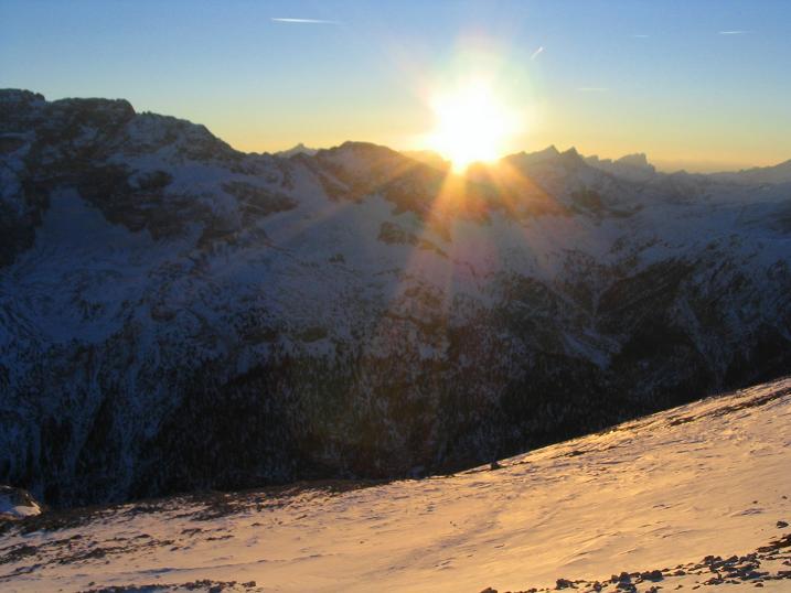Foto: Andreas Koller / Wander Tour / Dürrenstein - inmitten der Pragser Dolomiten (2839m) / 24.12.2008 13:49:18