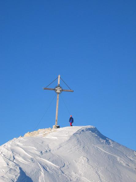 Foto: Andreas Koller / Wander Tour / Dürrenstein - inmitten der Pragser Dolomiten (2839m) / 24.12.2008 13:46:55