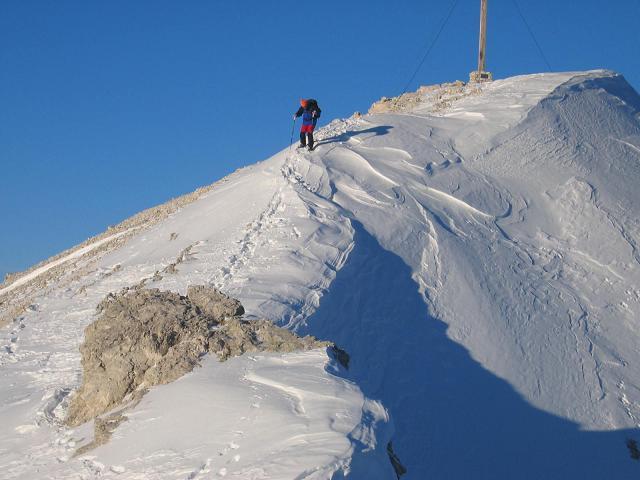 Foto: Andreas Koller / Wandertour / Dürrenstein - inmitten der Pragser Dolomiten (2839m) / 24.12.2008 13:46:06