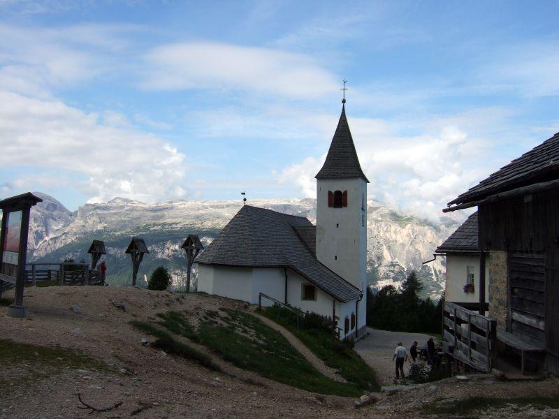 Foto: Ingo Gräber / Wander Tour / Über den Heiligkreuzkofel auf die Zehnerspitze / Heiligkreuzhospiz / 15.02.2013 17:12:39
