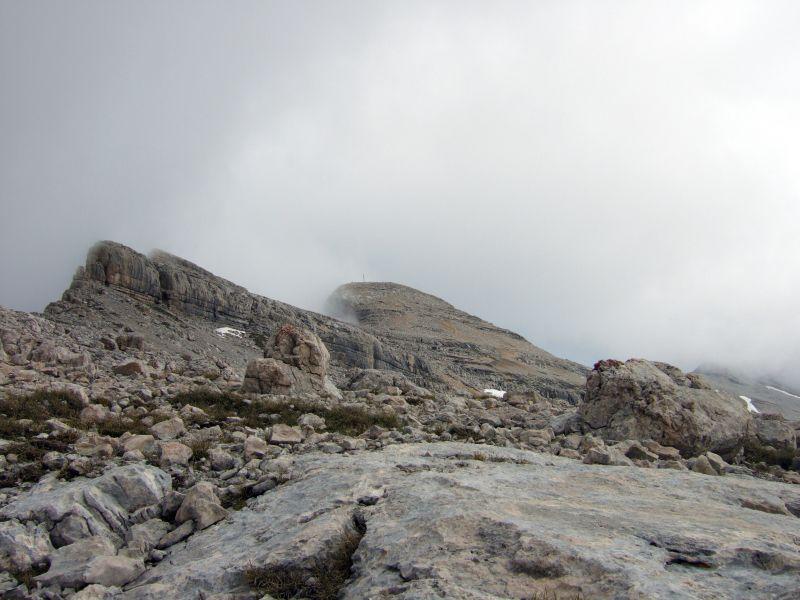 Foto: Ingo Gräber / Wander Tour / Über den Heiligkreuzkofel auf die Zehnerspitze / Heiligkreuzkofel und Zehnerspitze / 15.02.2013 17:08:59