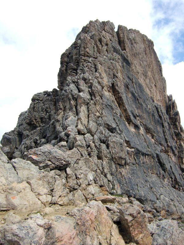 Foto: Ingo Gräber / Wander Tour / Über den Heiligkreuzkofel auf die Zehnerspitze / Gipfelaufbau der Zehnerspitze / 15.02.2013 17:07:01