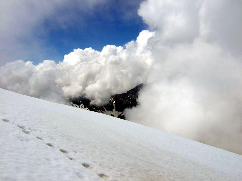 Foto: Ingo Gräber / Wandertour / Ankogel - Hochgipfel zwischen Gasteinertal und Maltatal (3252m) / Wolkenspiel / 05.10.2013 17:15:59