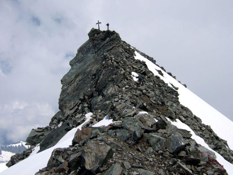 Foto: Ingo Gräber / Wandertour / Ankogel - Hochgipfel zwischen Gasteinertal und Maltatal (3252m) / Die letzten Meter zum Gipfel / 05.10.2013 17:14:52
