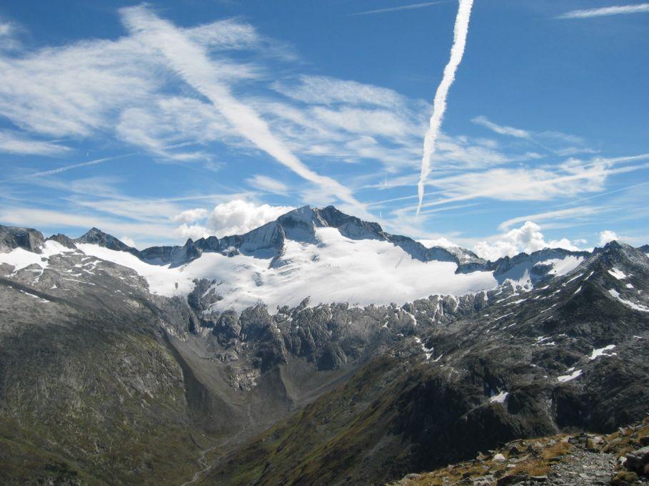 Foto: Gernot Huber / Wandertour / Ankogel - Hochgipfel zwischen Gasteinertal und Maltatal (3252m) / Hochalmspitze / 05.03.2010 21:40:20