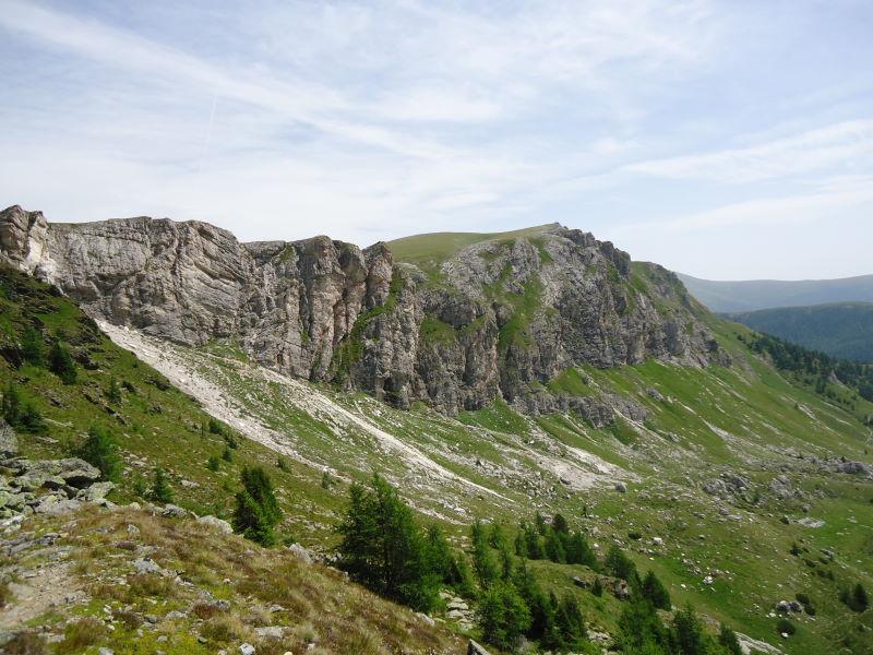 Foto: Günter Siegl / Wander Tour / Rosennock - höchste Erhebung der Kärntner Nockberge (2440m) / Zunderwand und Predigerstuhl / 10.08.2013 19:59:41