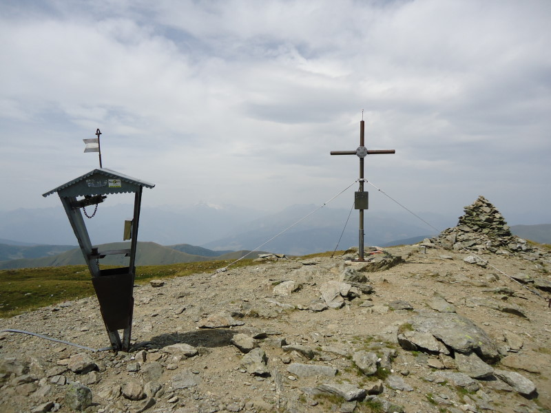Foto: Günter Siegl / Wander Tour / Rosennock - höchste Erhebung der Kärntner Nockberge (2440m) / Gr. Rosennock / 10.08.2013 19:59:24