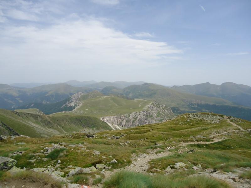 Foto: Günter Siegl / Wandertour / Rosennock - höchste Erhebung der Kärntner Nockberge (2440m) / Ganz im Hintergrund der Eisenhut / 10.08.2013 19:58:59