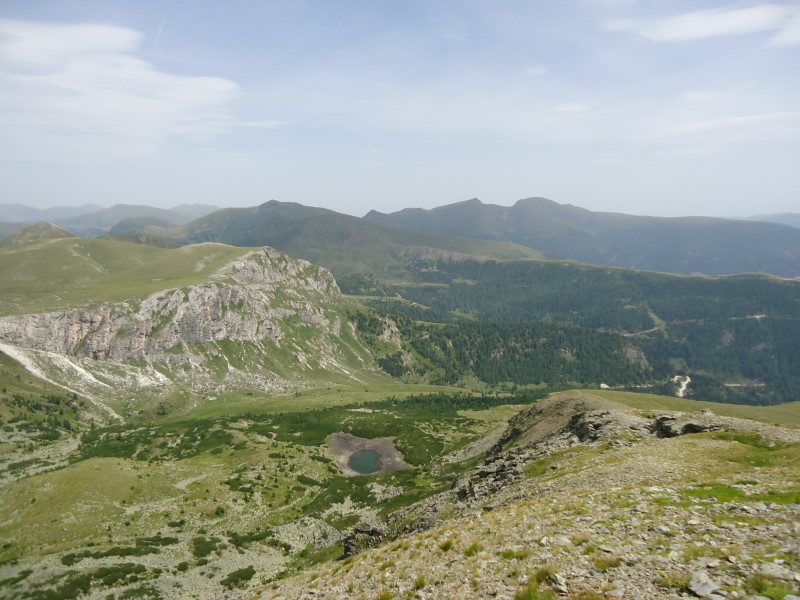 Foto: Günter Siegl / Wander Tour / Rosennock - höchste Erhebung der Kärntner Nockberge (2440m) / 10.08.2013 19:58:34