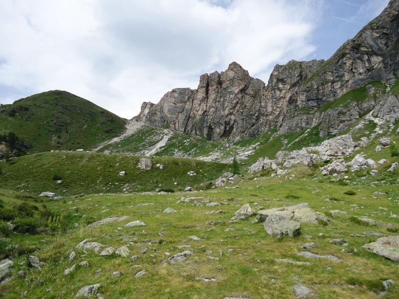 Foto: Günter Siegl / Wander Tour / Rosennock - höchste Erhebung der Kärntner Nockberge (2440m) / 10.08.2013 19:58:07